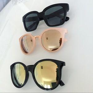 3 pairs of sunglasses